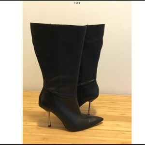 Guess by Marciano leather boots NWT